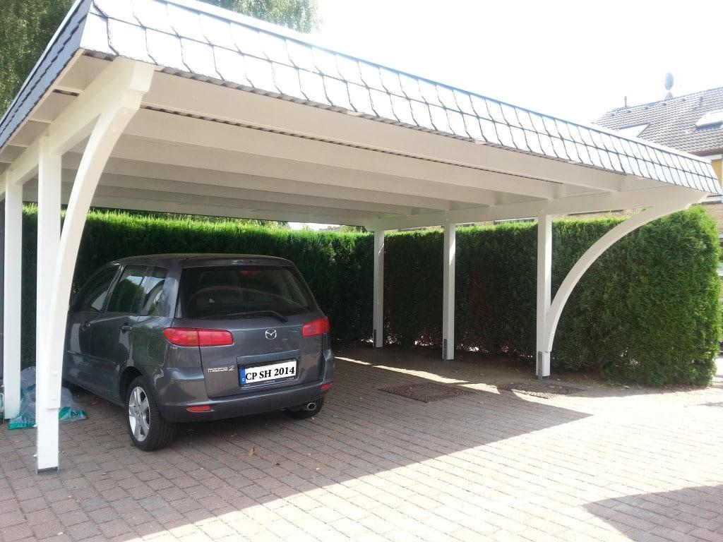 Doppel Carport carport NORD