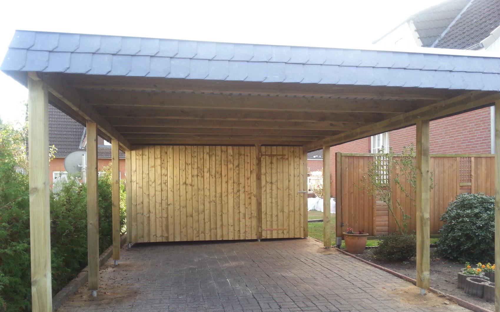 Holz Carport carportNORD