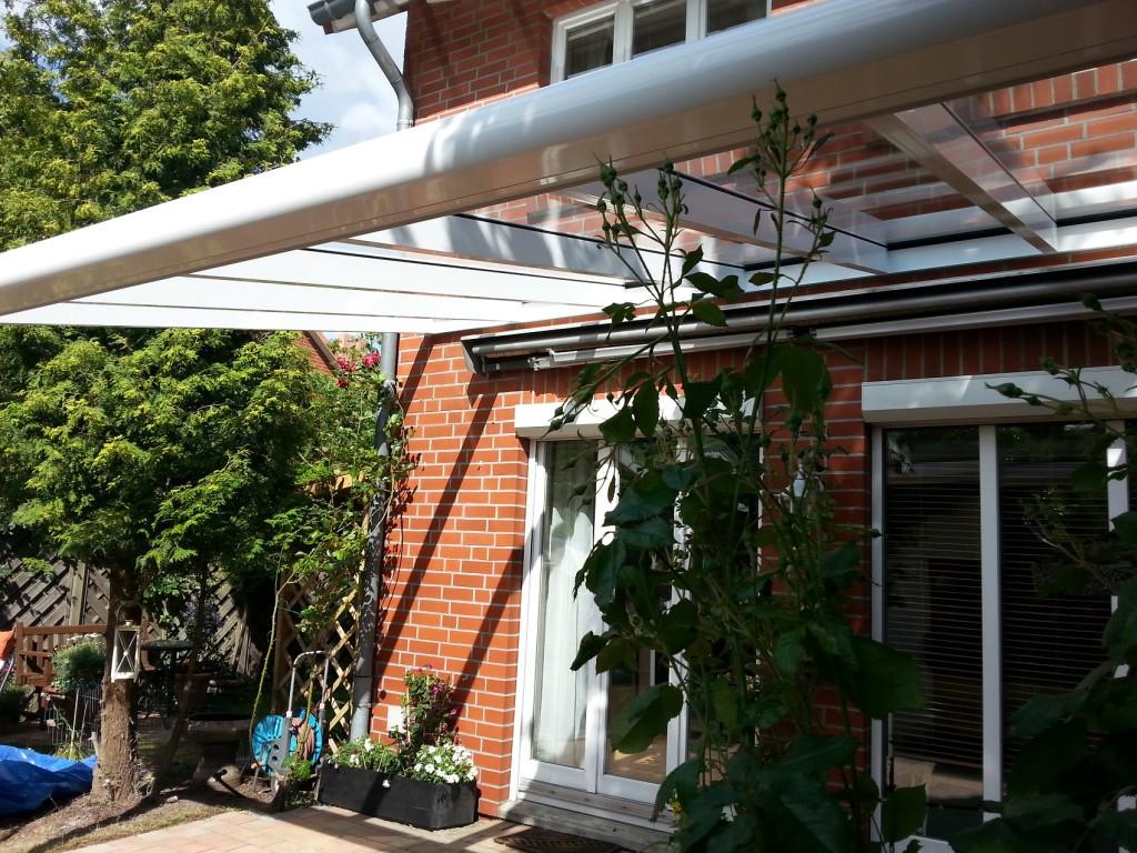 Terrassenüberdachung Typ NOVA 5,00m x 3,00m 10mm VSG ungeteilt