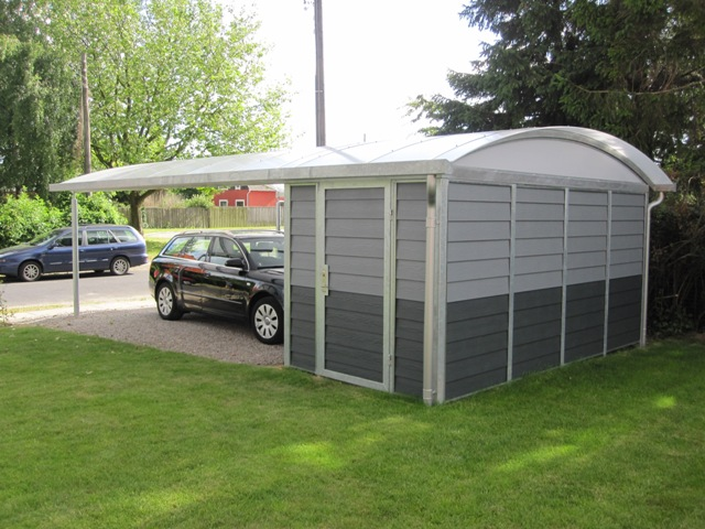galerie stahlcarport mit rundbogendach carport nord. Black Bedroom Furniture Sets. Home Design Ideas