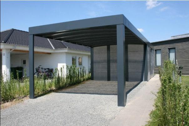 Galerie Kubus Stahlcarports